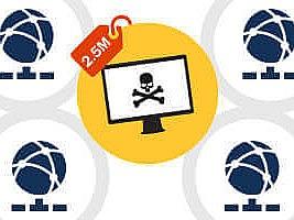 Ataques DDoS podem custar às empresas até US$ 2,5 milhões por ataque