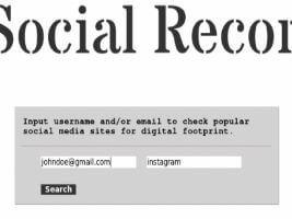 Social Reacon (OSINT Scraper) – Coleta de dados em fontes públicas