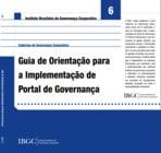 Caderno 6 - Guia de Orientação para a Implementação de Portal de Governança