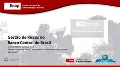 Gestão de Riscos no Banco Central do Brasil